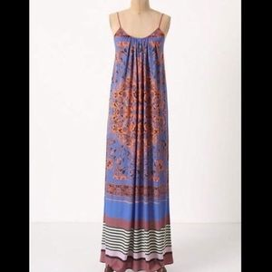 Anthropologie Dream Daily Maxi Dress XS